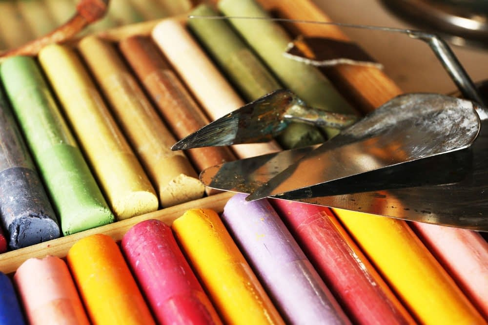 pastels art medium